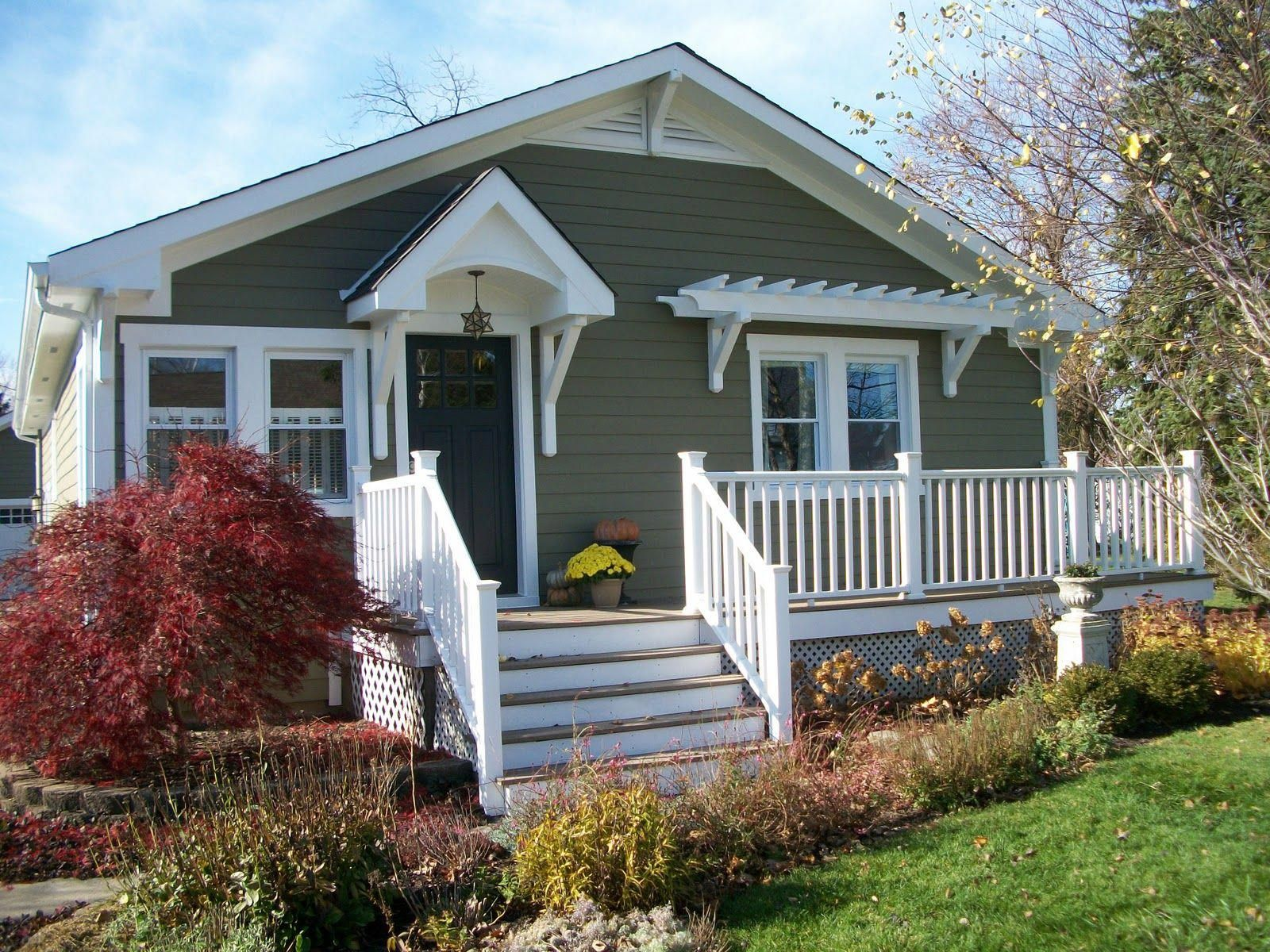 Porch Ideas For Houses Cottage Front Doors