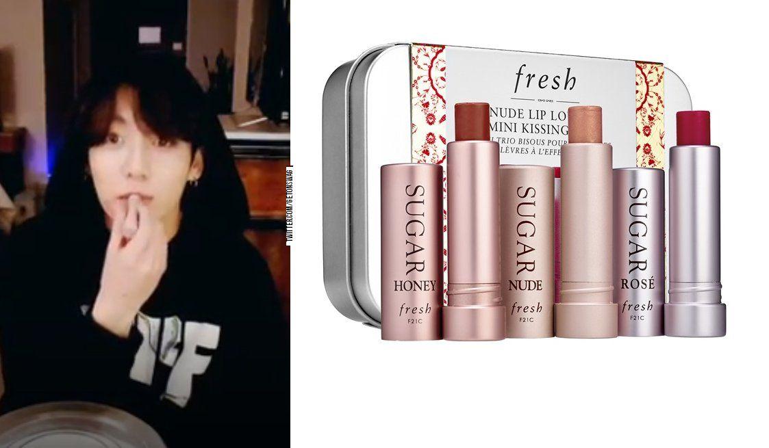 5 Twitter Lipstick Brands Bts Makeup Fresh Lip Balm