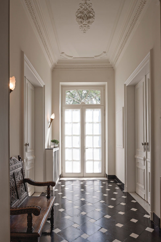 Flooring Piedmont Bluestone White Marble Cabochons Home Classic Interior Home Decor