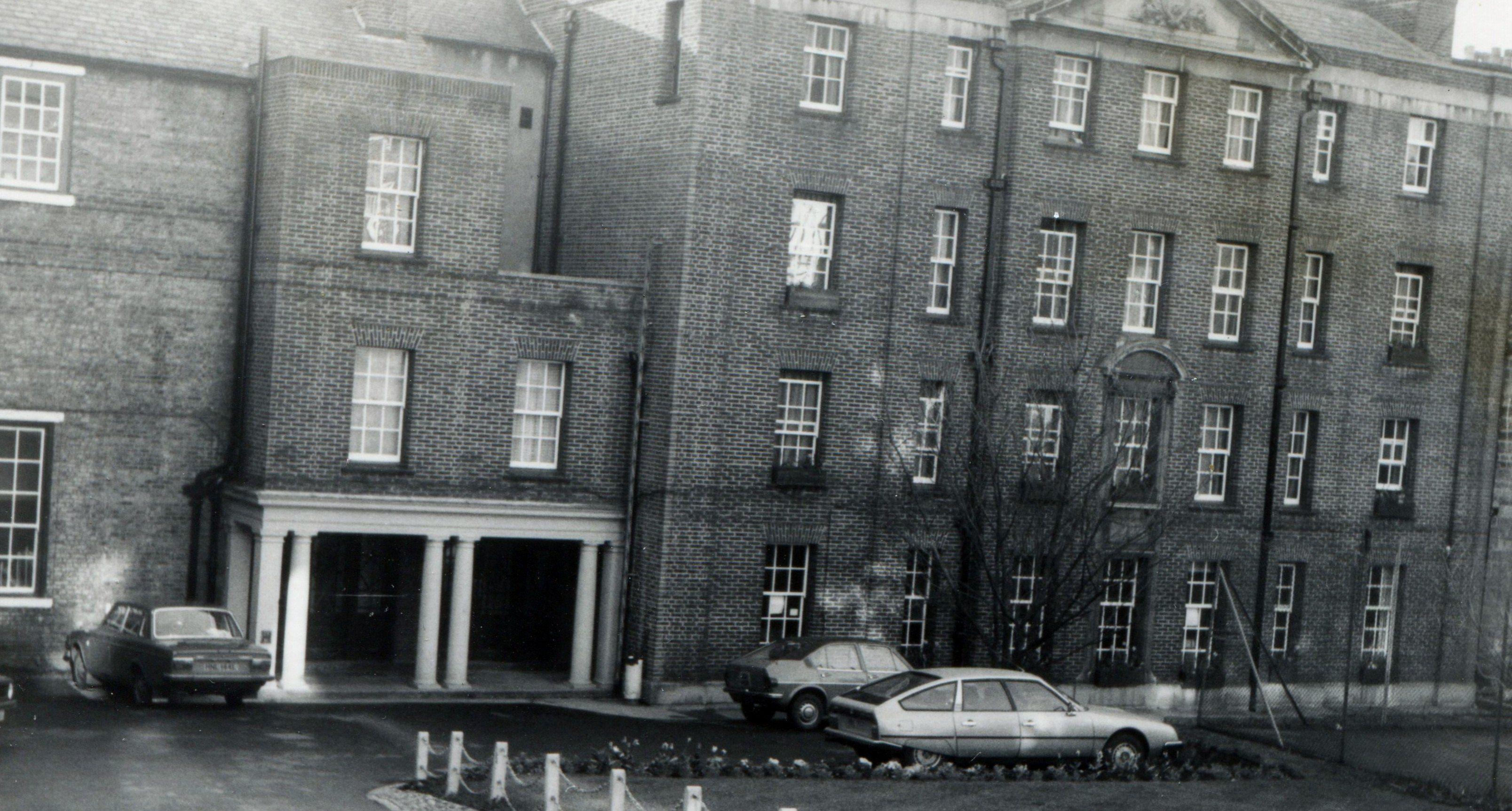 Entrance To Hatfield College Durham University 1980 Durham Uk