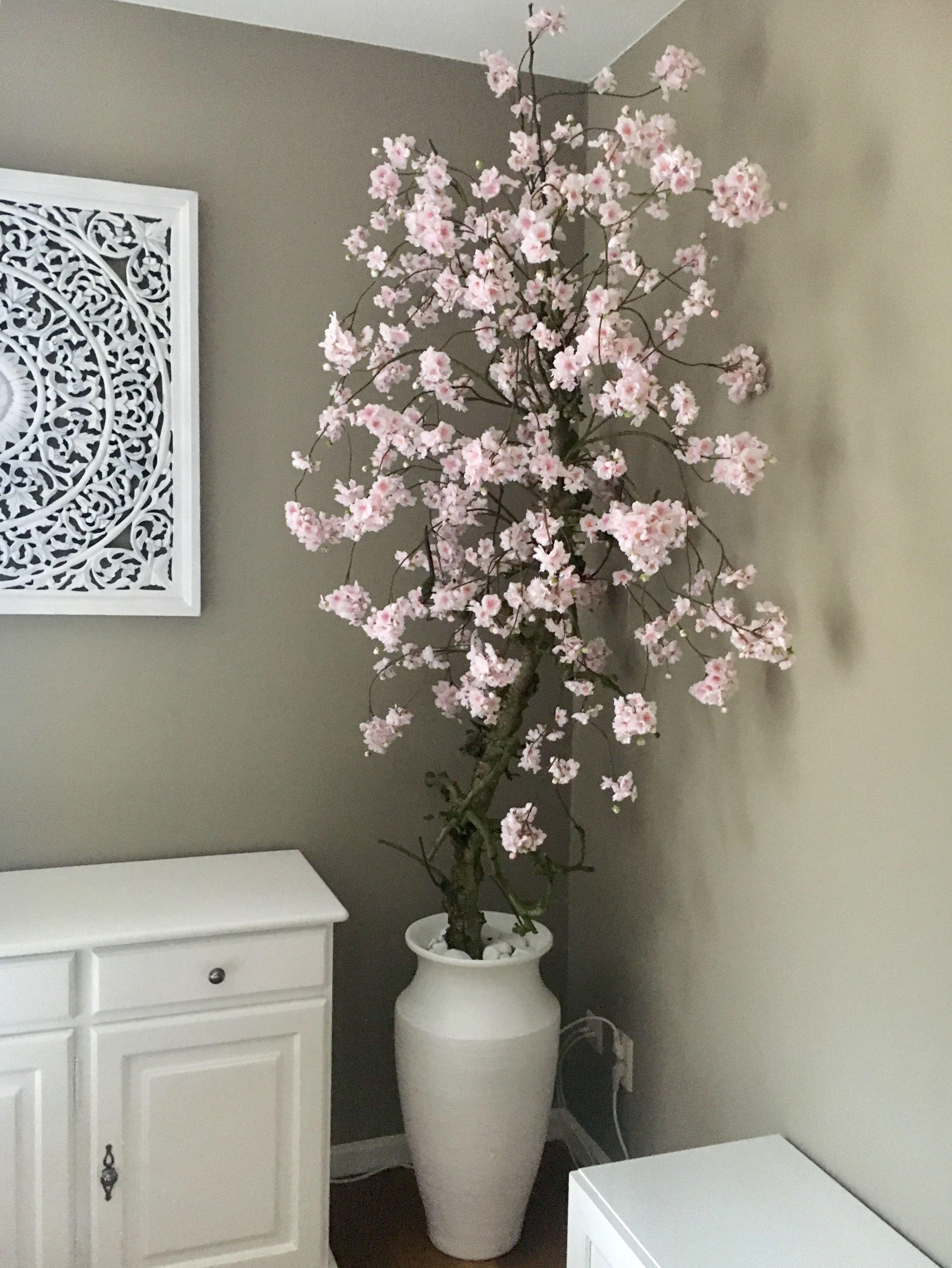 roze bloesemboom op stam 220 hoog