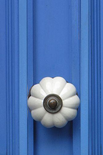 Blue door | Door knobs, Sydney and Doors