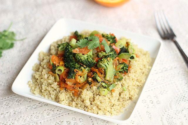 #brocoli #quinoa