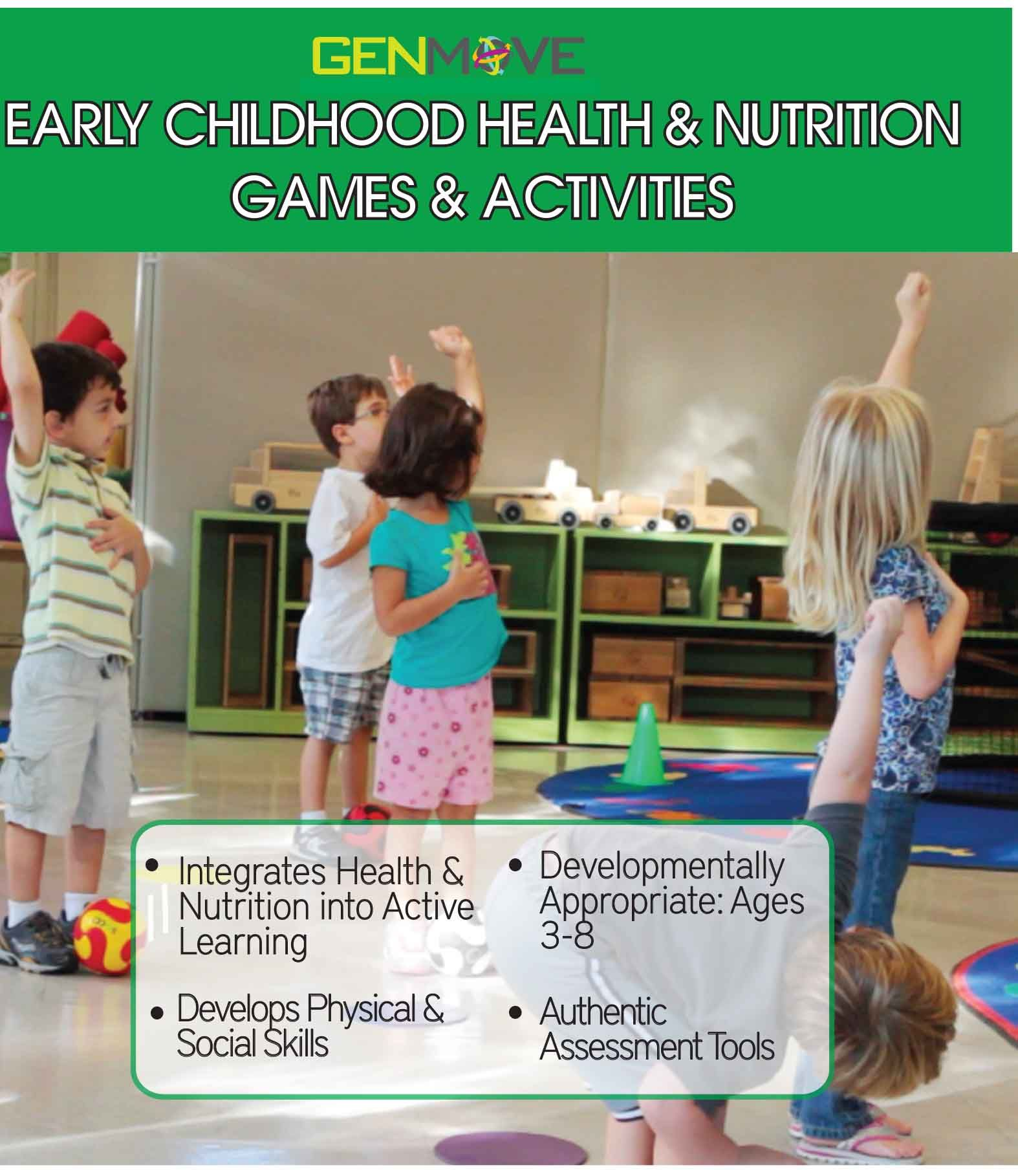Early Childhood Health & Nutrition Games Activities Book
