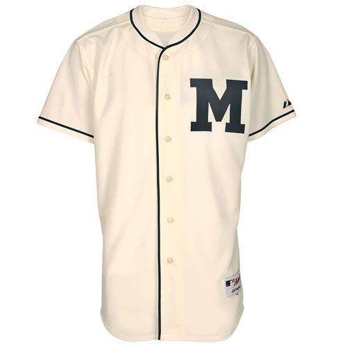 brand new d44bd ad9af Milwaukee Brewers Authentic 1913 Turn Back The Clock Jersey ...