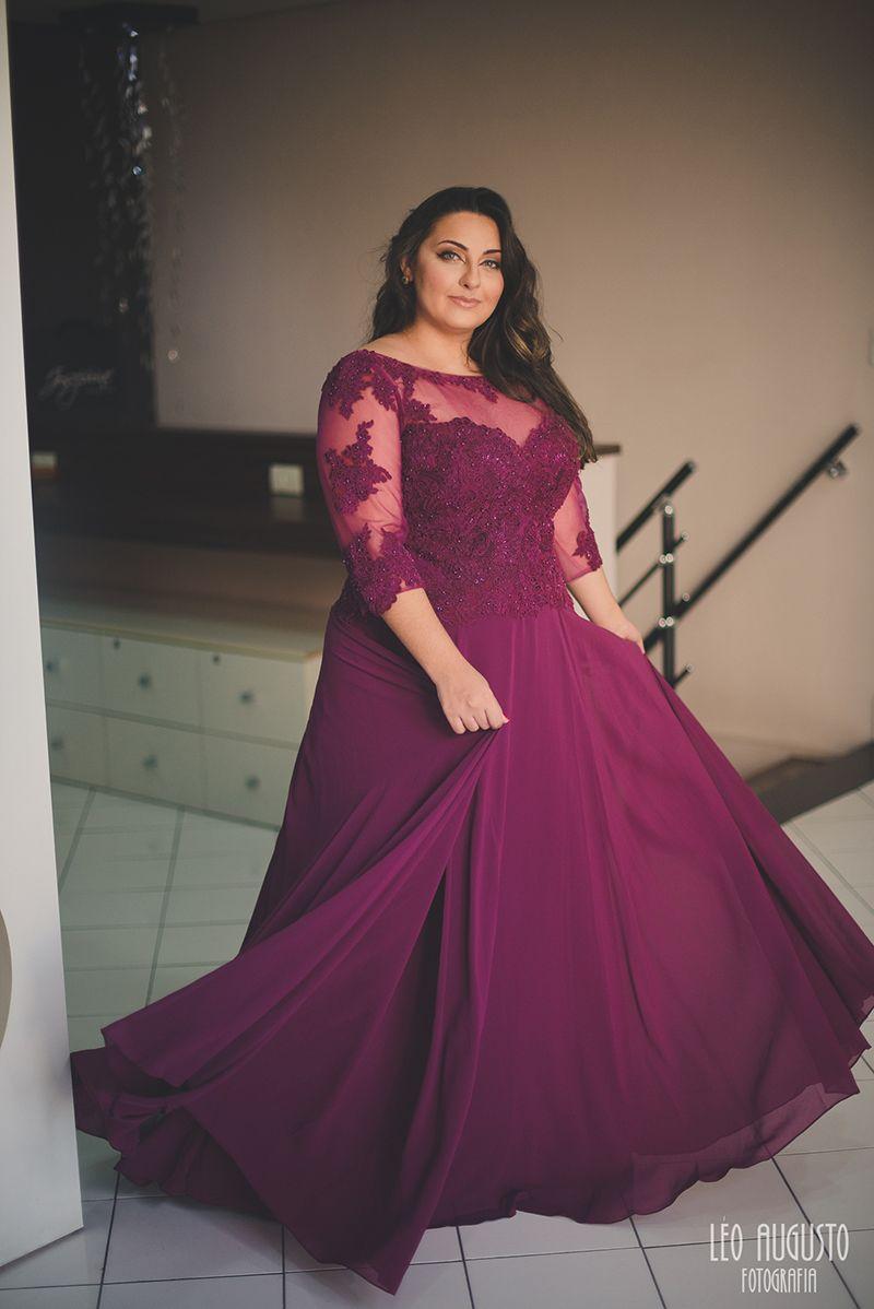 Vestidos de festa Plus Size 2016 | Dream Wedding | Pinterest ...