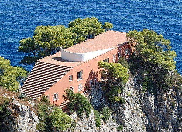 Isola di Capri Villa, Classic architecture, Architecture