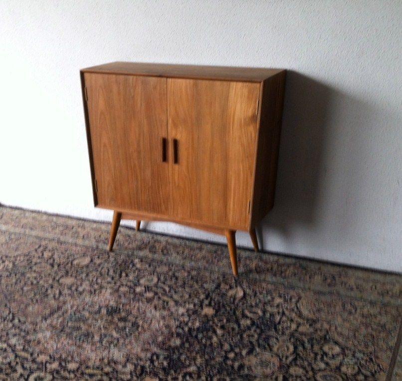 Danish Mid Century Modern Mahogany Shoe Cabinet | House - Entrance ...