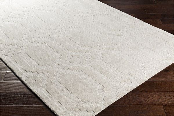 Surya Metro Scout Rug Textured Solid Wool Area Rug Rugs Direct Wool Area Rugs Area Rugs Ivory Rug
