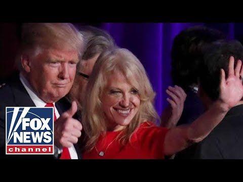 Kellyanne Conway scolds husband, thanks Trump in bitter