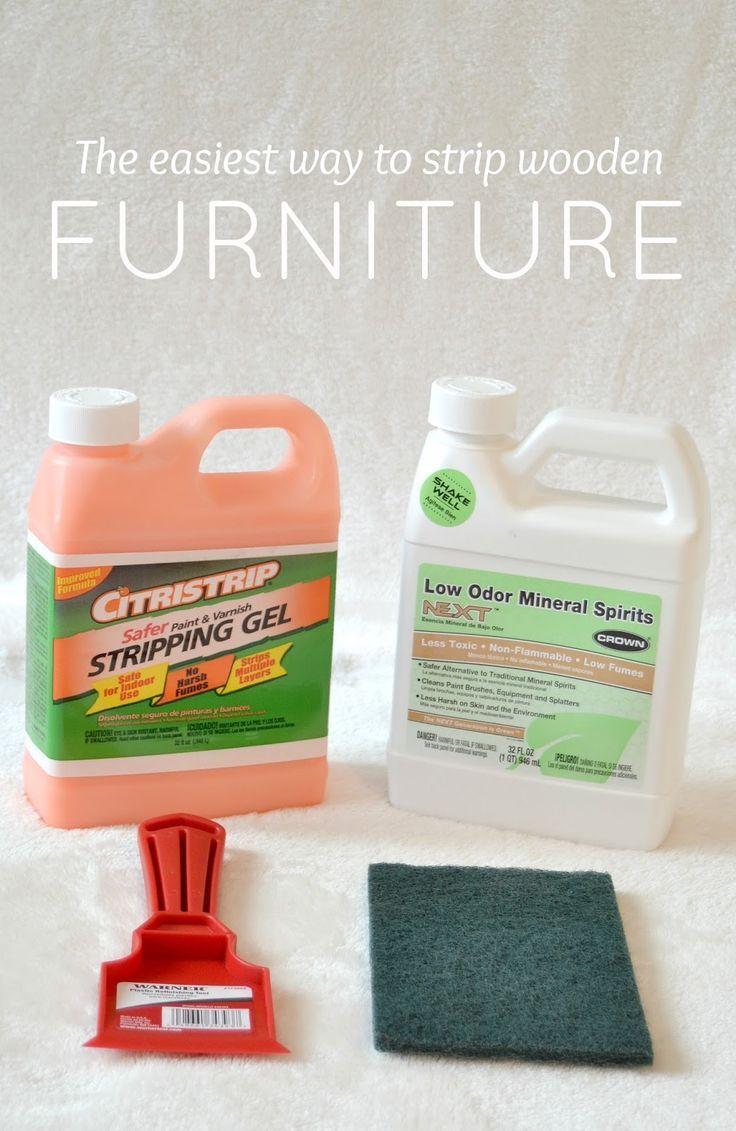 Easiest Way To Strip Painted Furniture