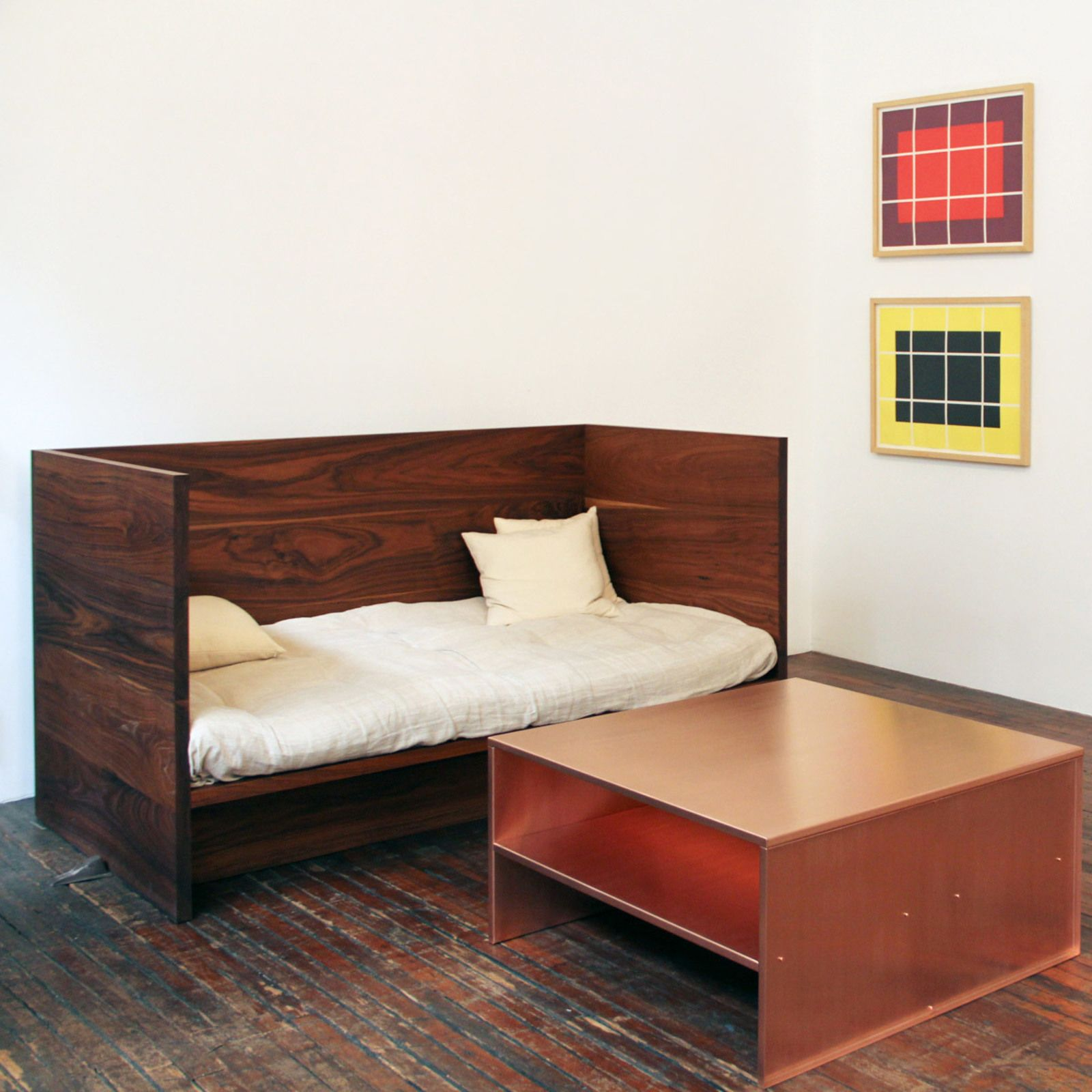 Donald Judd Prints Metal Furniture Furniture Nyc And Metals - Colorful judd side table with different variations