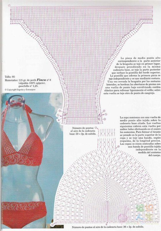 Material: hilo numero 5-más o menos 100 gramos aguja de crochet ...