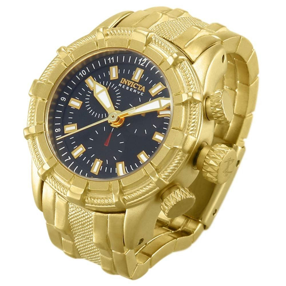Invicta miniature reserve bolt gold plated stainless steel