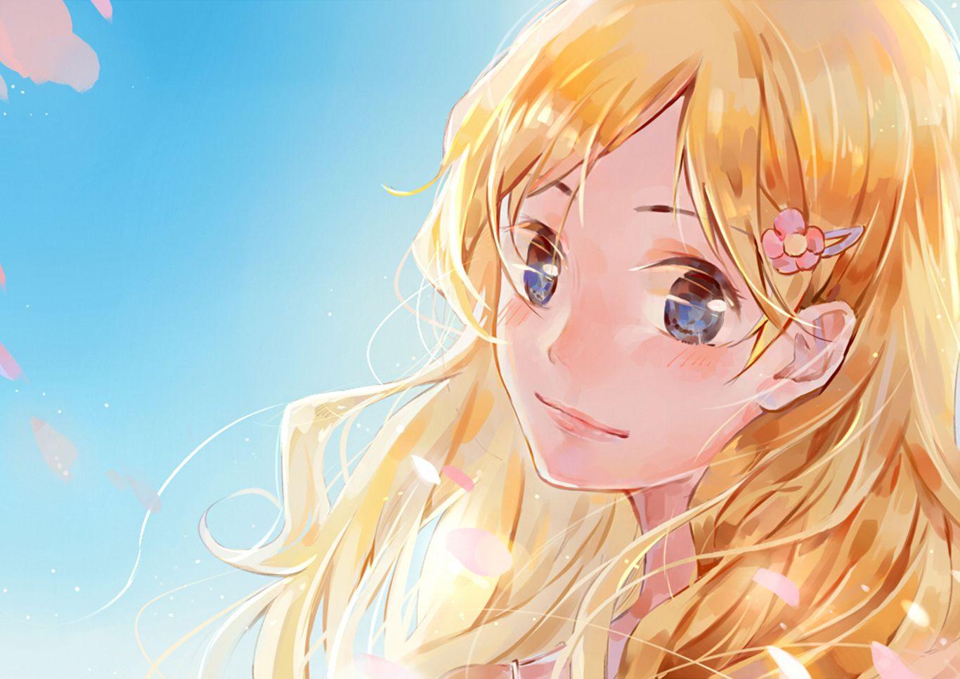 Anime Your Lie In April Kaori Miyazono Wallpaper Shigasu