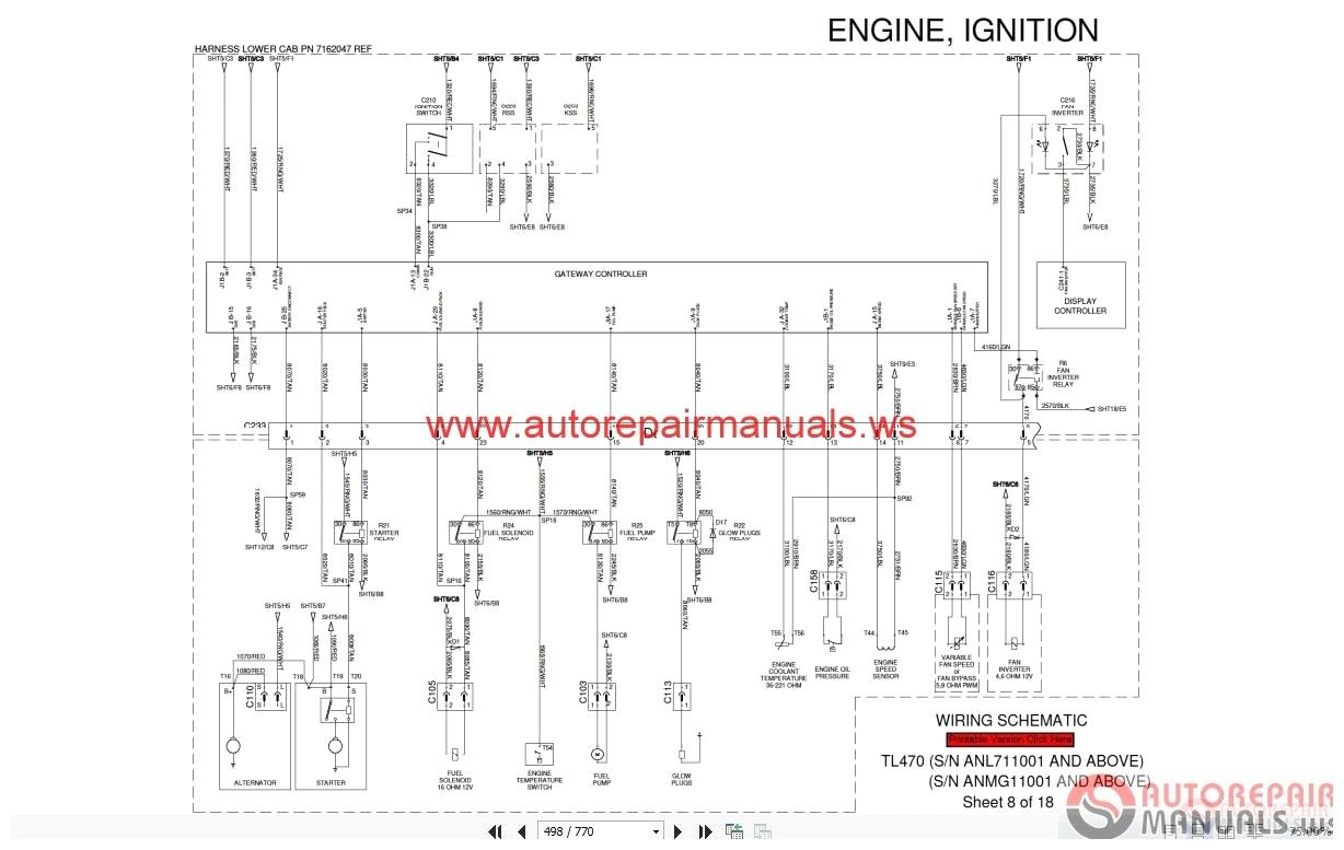 small resolution of  742 t190 wiring diagram manual e book on bobcat 863 parts diagram