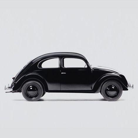 Monochrome Volkwagen Beetle Black On Car Inspiration Og Dialog