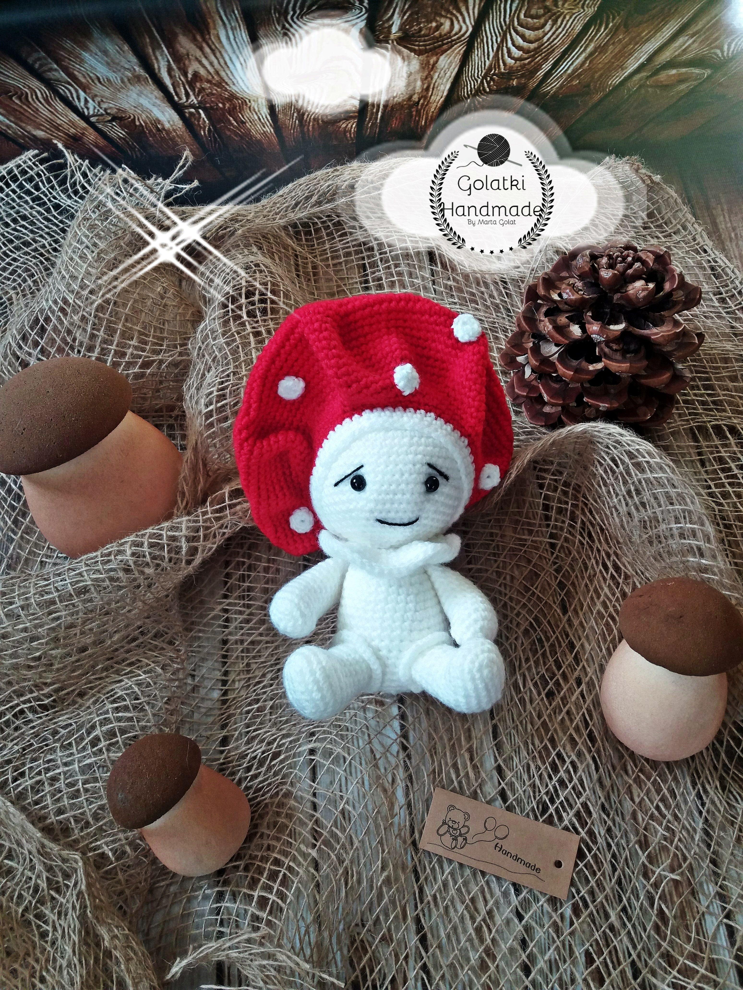 Mushroom 🍄 🍄 🍄 🍄 🍄 🍄 🍄 🍄 Orginal pattern by Sanda J. Dobrosavljev #amigurumi #crochet #crochettoys #maskotki #zabwki #szydełko #szydełkowanie #rękodzieło #diy #handmade #yarn #häkeln #ganchillo #Вязаниекрючком #wool #dziergam #amigurumilove #amigurumilicious #mushroom #grzybek #grzyb #muchomor #muchomorek #prawdziwki #grzyby #nagrzyby #wkropki #hobby #myhobby #iloveit #robótki #szydełkiem #naszydełku