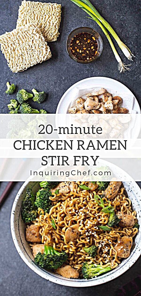 Photo of 20-Minute Chicken Ramen Stir-Fry