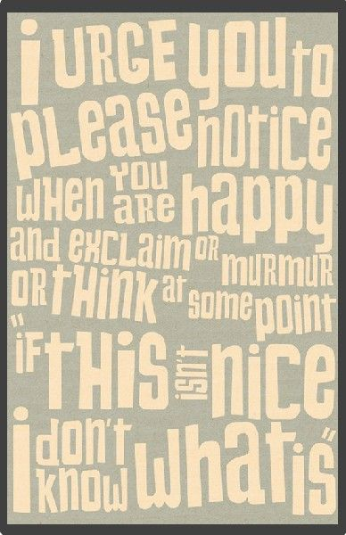 Be Happy. Because it's the Nice Thing to Do. ~ Sashah Rahemtulla | elephant journal