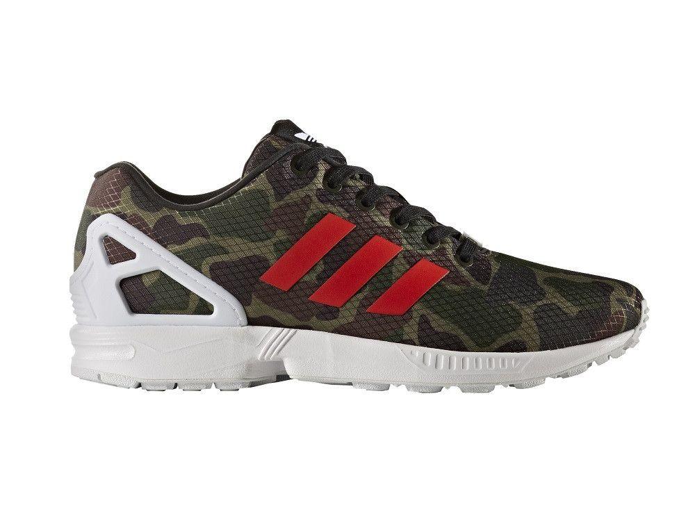 Adidas Zx Flux Camo
