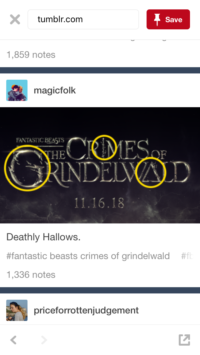 The Deathly Hallows In The Crimes Of Grindelwald Letters Harry Potter Funny Harry Potter Universal Harry Potter Fan