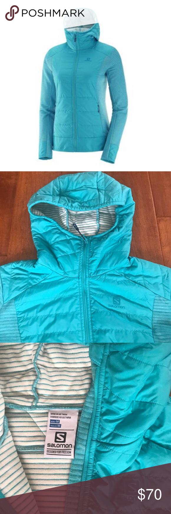salomon right nice hybrid hoodie womens best 47d27780