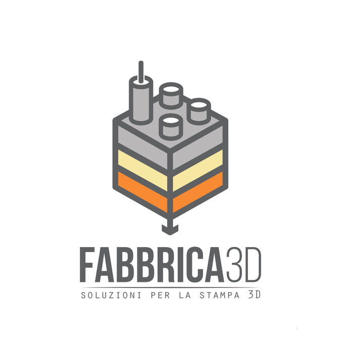 Give A Logo For A 3d Printing Company Fabbrica 3d 3d Factory By M Dy 3d Printing Companies Printer Logo Business Icons Design