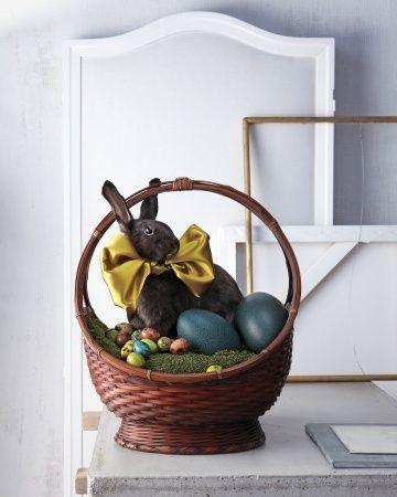 pinterest martha stewart beautiful easter baskets | Martha Stewart Easter Basket | Easter | Pinterest