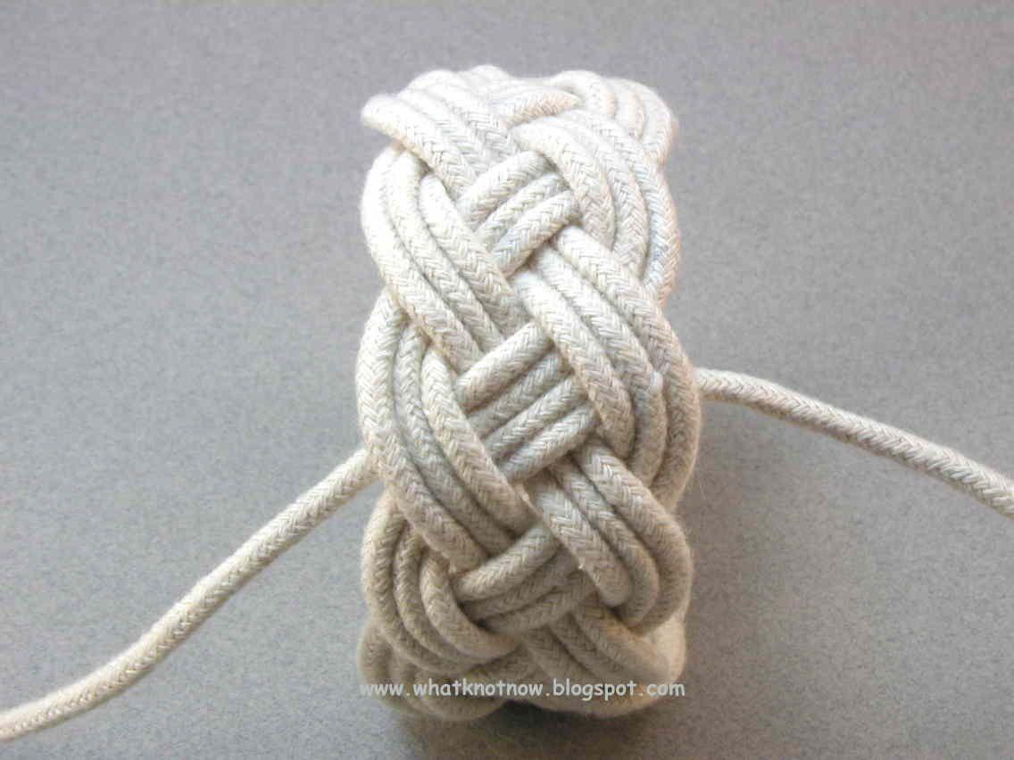 Turks Head Knot Bracelets And Contemporary Fiber 11x4x3 Tutorial Part 3