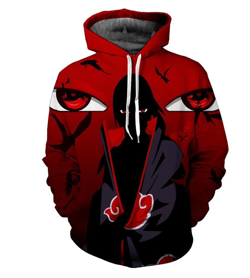 Sasuke hoodie | Pull capuche