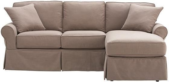 Home Decorators Collection Mayfair 2 Piece Classic Natural Sectional