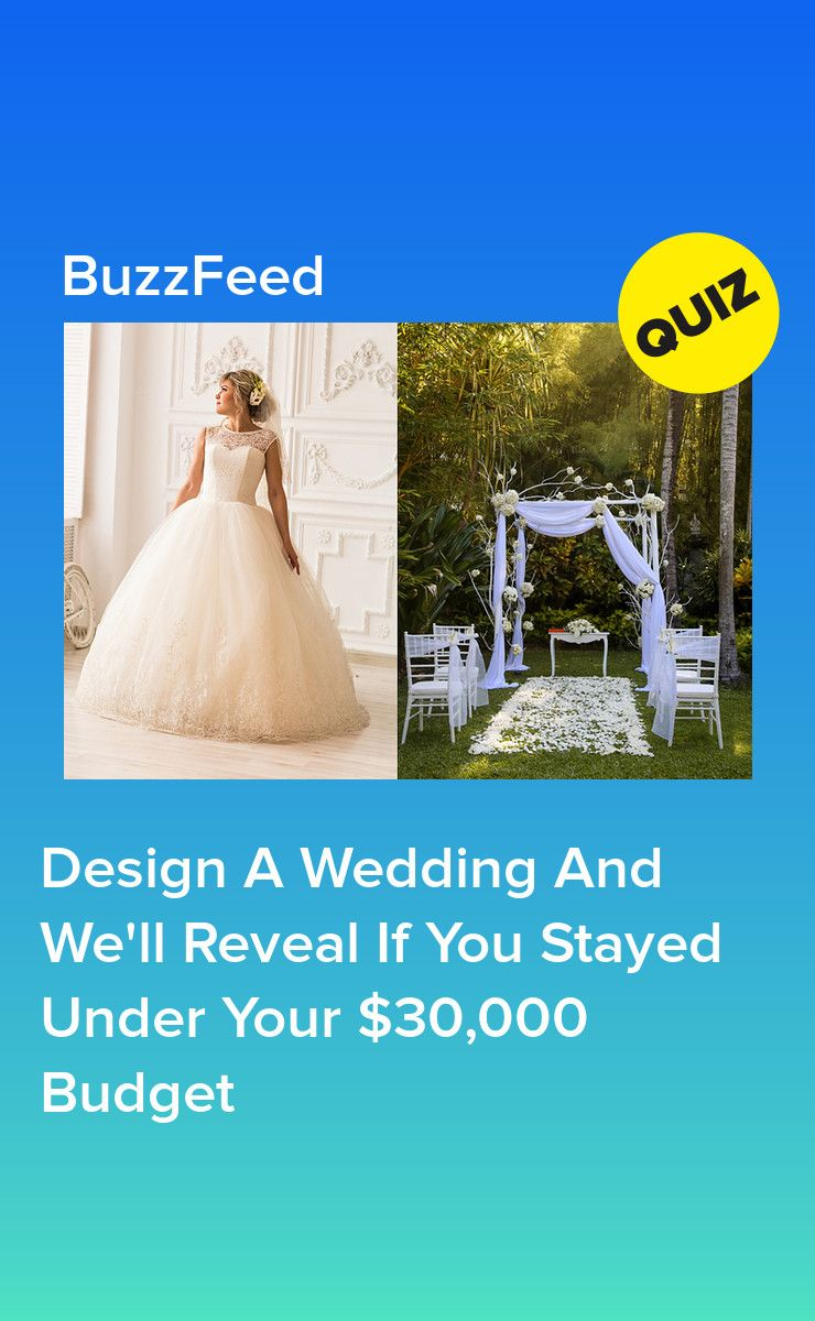What Kind Of Wedding Dress Should I Have Quiz Buzzfeed