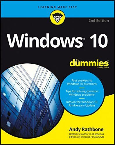Windows 10 For Dummies 2nd Edition Pdf Download E Book It Ebooks