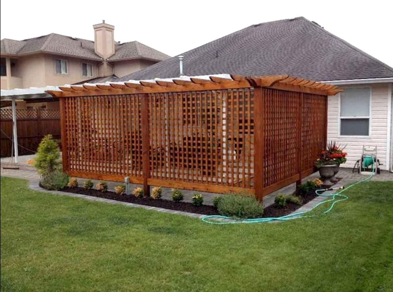 50 Stunning Backyard Privacy Fence Decoration Ideas On A Budget