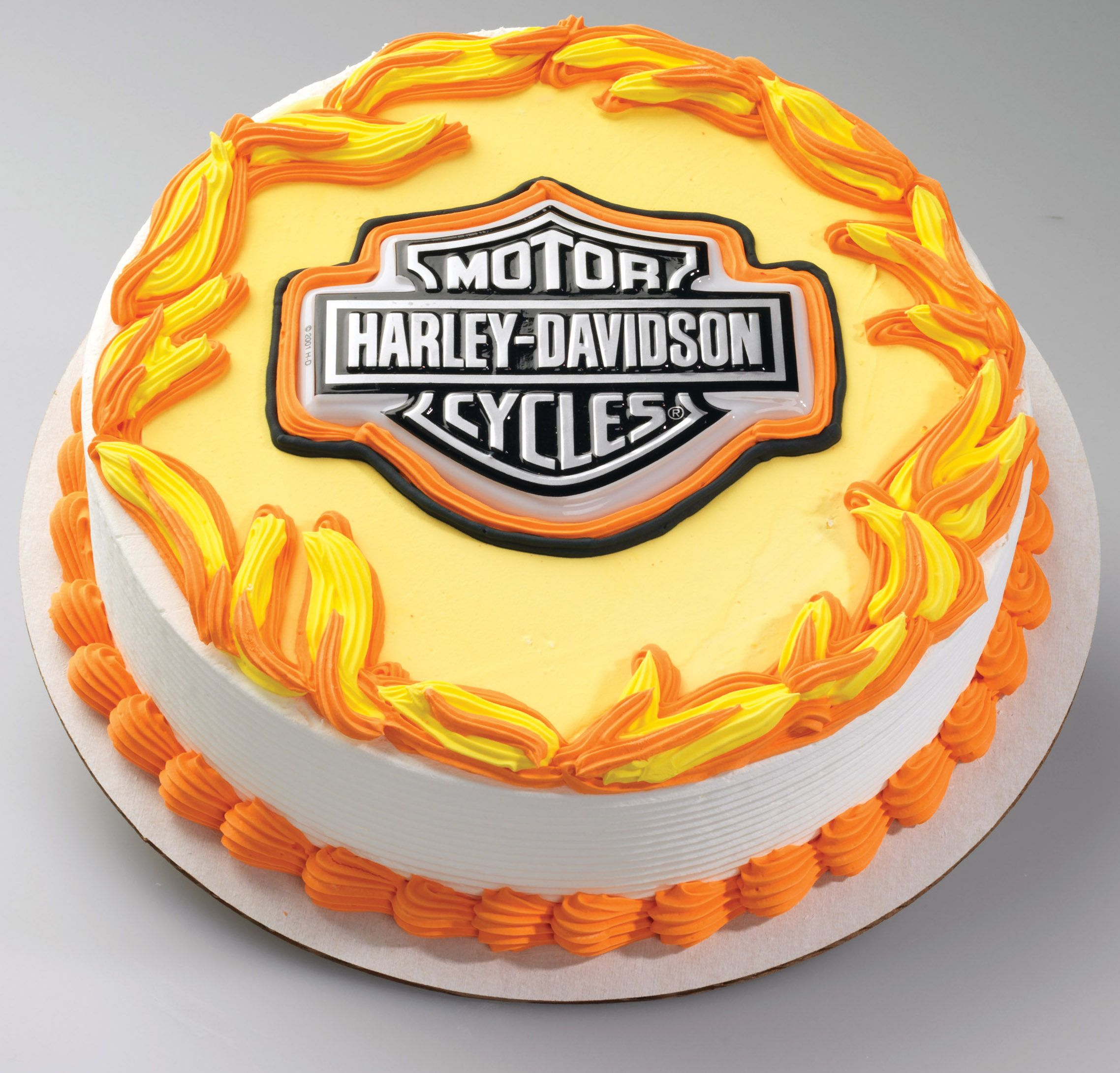 199 BCHD5 HarleyDavidson BS Pop Tops Plastic Cake Topper