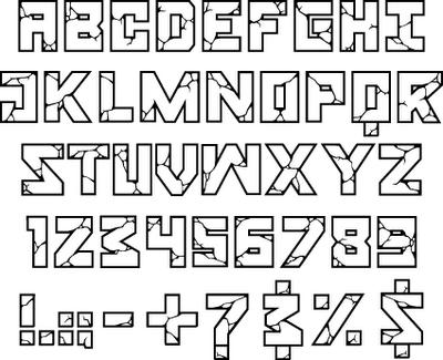 Graffiti Alphabet Letters A-Z | alphabet graffiti,graffiti ...