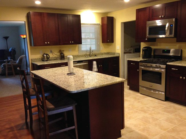 Image Submitted By Client DIANE TREMAIN KCK MOCHA SHAKER Kitchen - Tremain bathroom remodeling