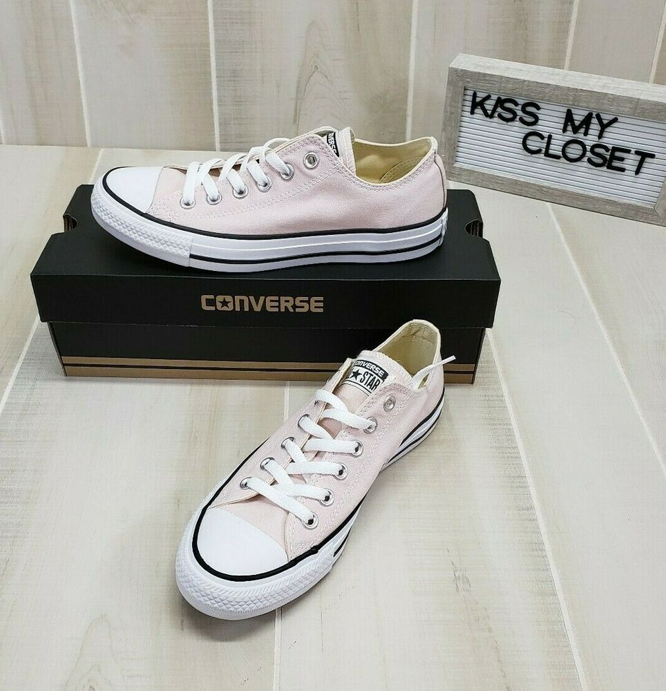 Converse All Star Pink Low Tops Women's