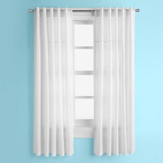 The Land Of Nod | Kids Curtains: Kids White Curtain Panels In Curtains U0026  Hardwares