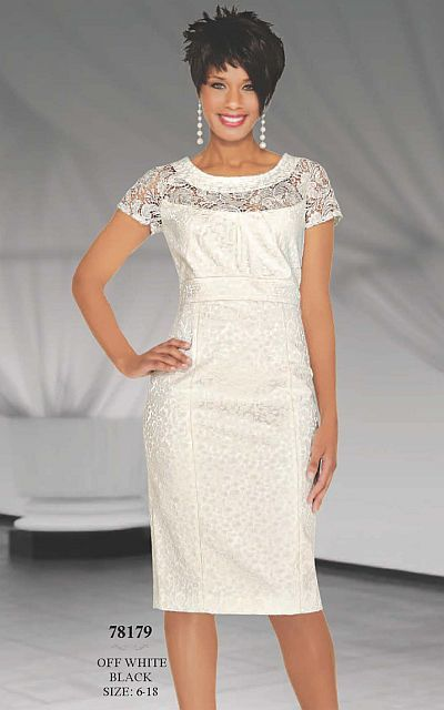 Another image of Stacy Adams Womens Off White Church Dress 78179 ...