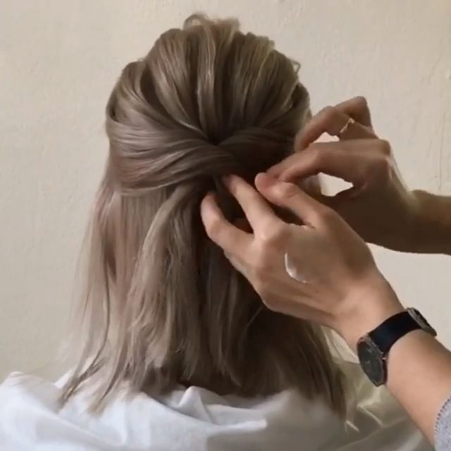 Hairstyle -   16 hair Updos videos ideas