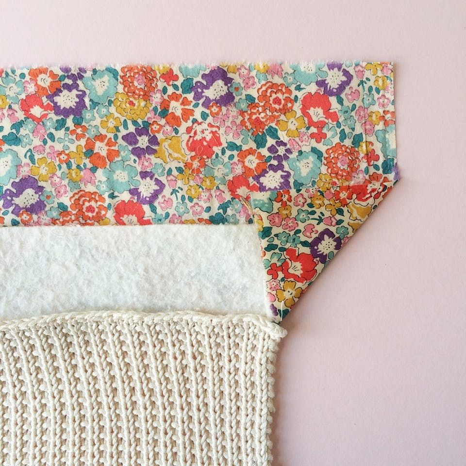 Knitted baby comfort blanket - Guthrie & Ghani   Baby ...