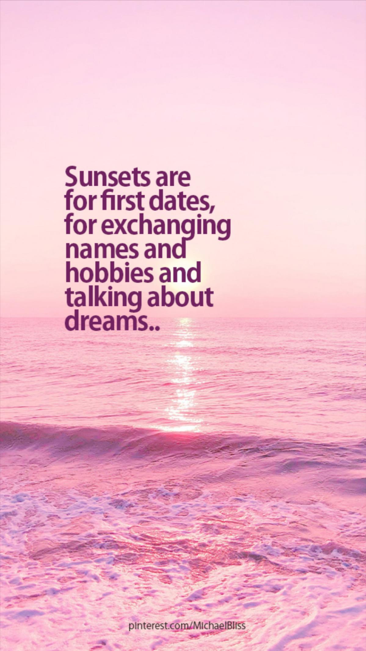 Sunrises are where life begins