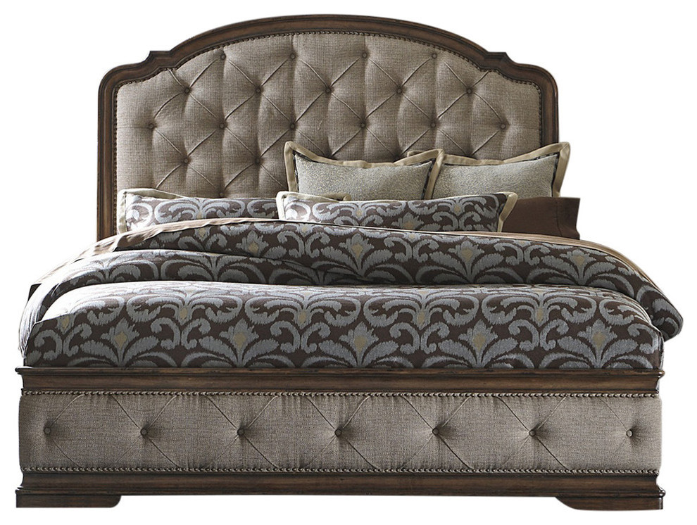 Liberty Furniture Amelia Upholstered Bed Traditional Panel Beds By Quality Furniture Discounts Upholstered Beds King Upholstered Bed Liberty Furniture