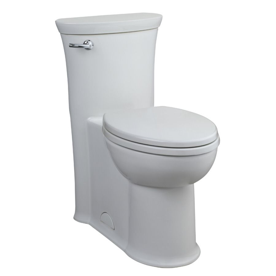American Standard Tropic White 1 28 Gpf 4 85 Lpf 12 Rough In Watersense Elongated 1 Piece Chair Height Toil One Piece Toilets Luxury Toilet American Standard