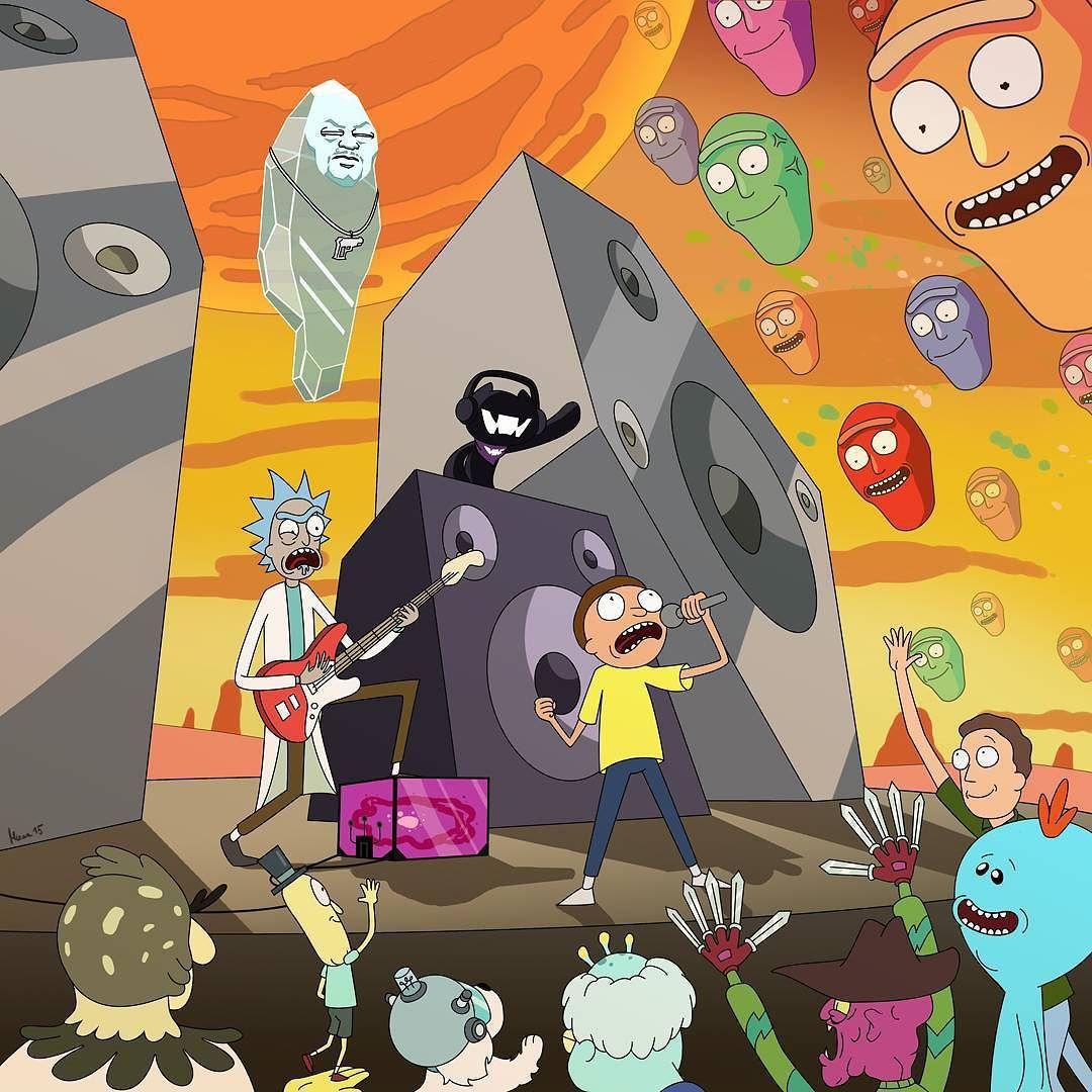 Wubba lubba dub dub meets wub wub wub rickandmorty sundayfunday by monstercat