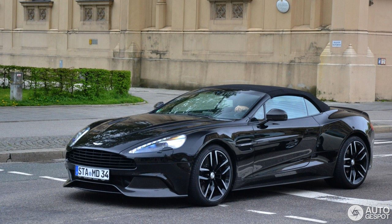 Aston Martin Vanquish Volante Carbon Black Edition Cars - Aston martin vanquish black