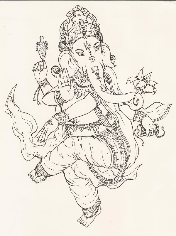 Inhabitude | Ganesha tattoo | Pinterest | Hindus, Elefantes y ...