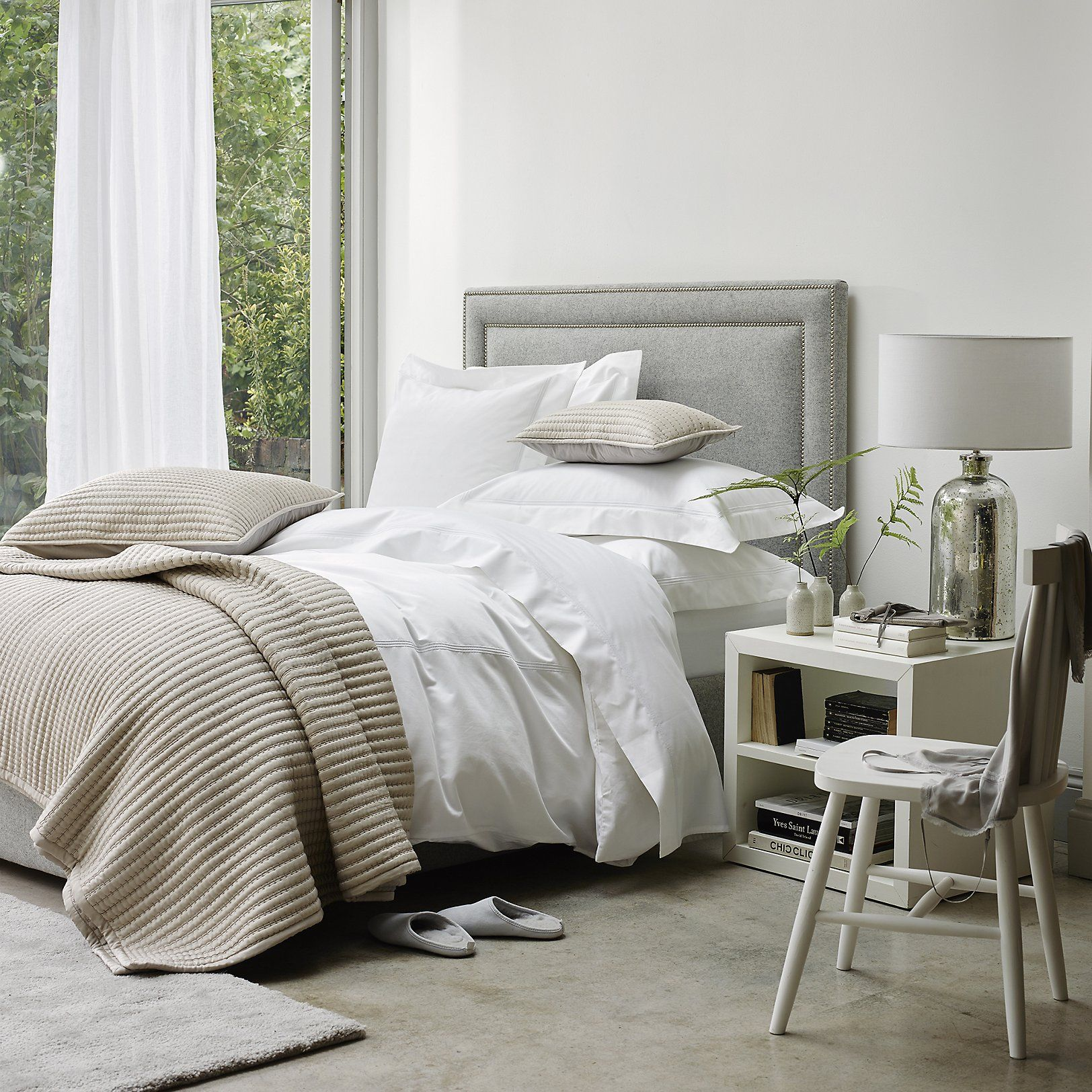 Belgravia Bed Linen Collection Collections Bedroom The White Company Us